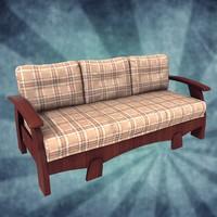 sofa blender 3ds