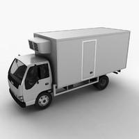 isuzu fridge truck 3ds