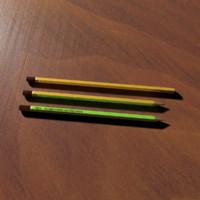 3d pen pencil model