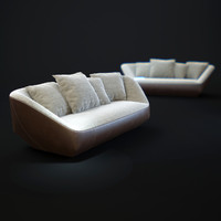 3d isanka-sofa model
