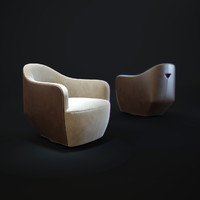 walter-knoll-isanka-chair 3d model