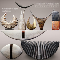 Sculpture collection Thierry Martenon