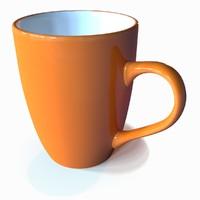 mug ceramic 3d model
