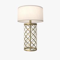 3d model modeled light lamp drum
