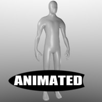 Human Base Mesh Animated
