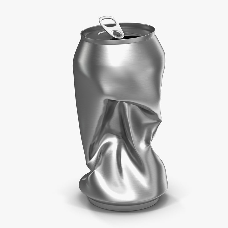 Crushed Soda Can 3d model 00.jpg
