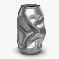 crushed soda 3d model