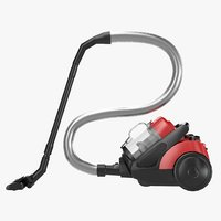 modern vacuum cleaner clean 3d model