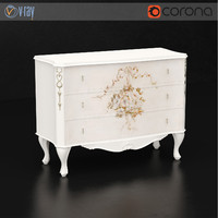 vittorio grifoni sideboard 3d model