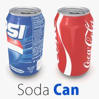 supermarket soda 3d model