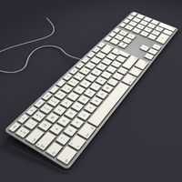 Aluminium USB Keyboard (UK)