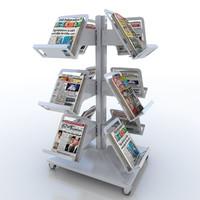 Newspaper Tree Stand