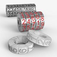 combination lock obj