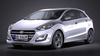 hyundai i30 5-door 3ds