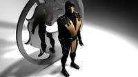 scorpion mortal kombat 3d model