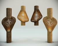 3d diva pending floor lamp