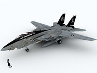 f-14 tomcat fighter aircraft 3d max