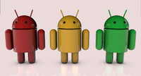 3d model android droids