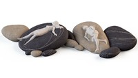 obj floor cushions stone chairs