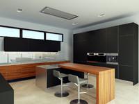 interior modern kitchen max