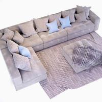 3d max sofa modular