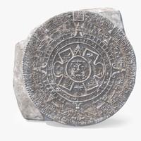 3d max ancient mayan calendar