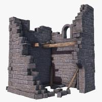old tower ruins max
