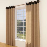 3d curtain pelmet