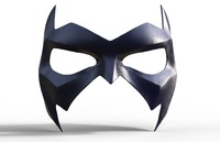 3d night wing mask
