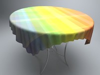 glass round table tablecloth