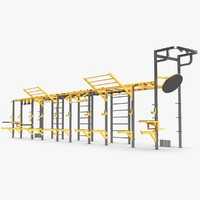 3d functional training rig range model