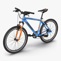 3ds mountain bike generic blue
