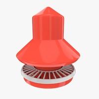 chicken feeder 3d model