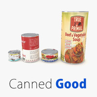 supermarket canned foods max