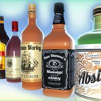 3d model cocktails booze