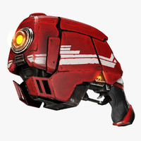 close plasma weapon 3d model