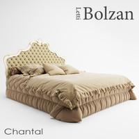 bolzan letti chantal 3d max