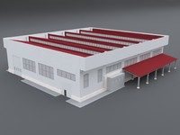 industrial structures 1 3d model