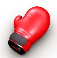 guants boxing 3d obj