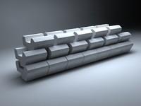 precast concrete 3d model