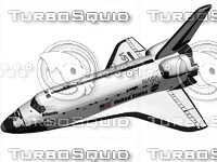 space shuttle 3d max