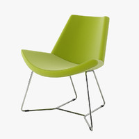 3d max halle chair