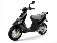 3d model scooter gilera stalker 1