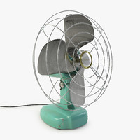 3d max vintage eskimo fan