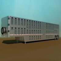livestock semi trailer max