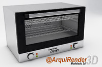 convection oven 3d 3ds