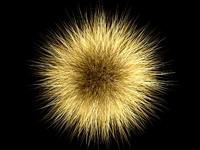 3d fur ball