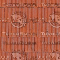 Clay Tile Roof Texture
