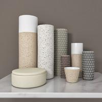 ceramic vase 3d model