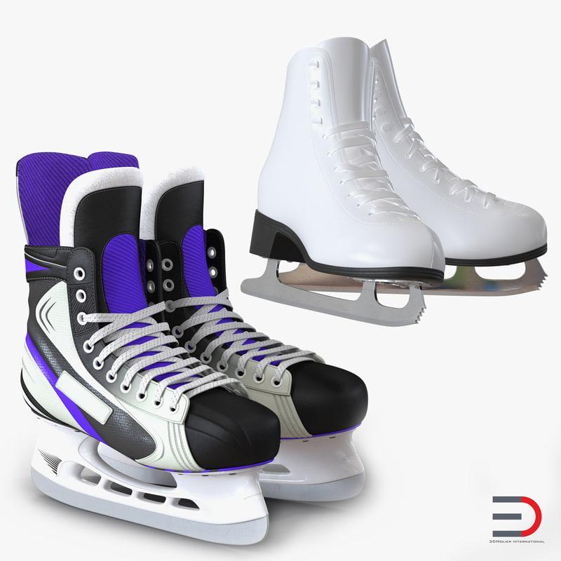 Ice Skates Collection 3d models 00.jpg